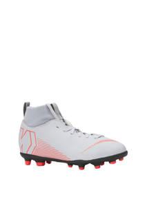 Nike kids JR Superfly 6 Club FG/MG voetbalschoenen grijs