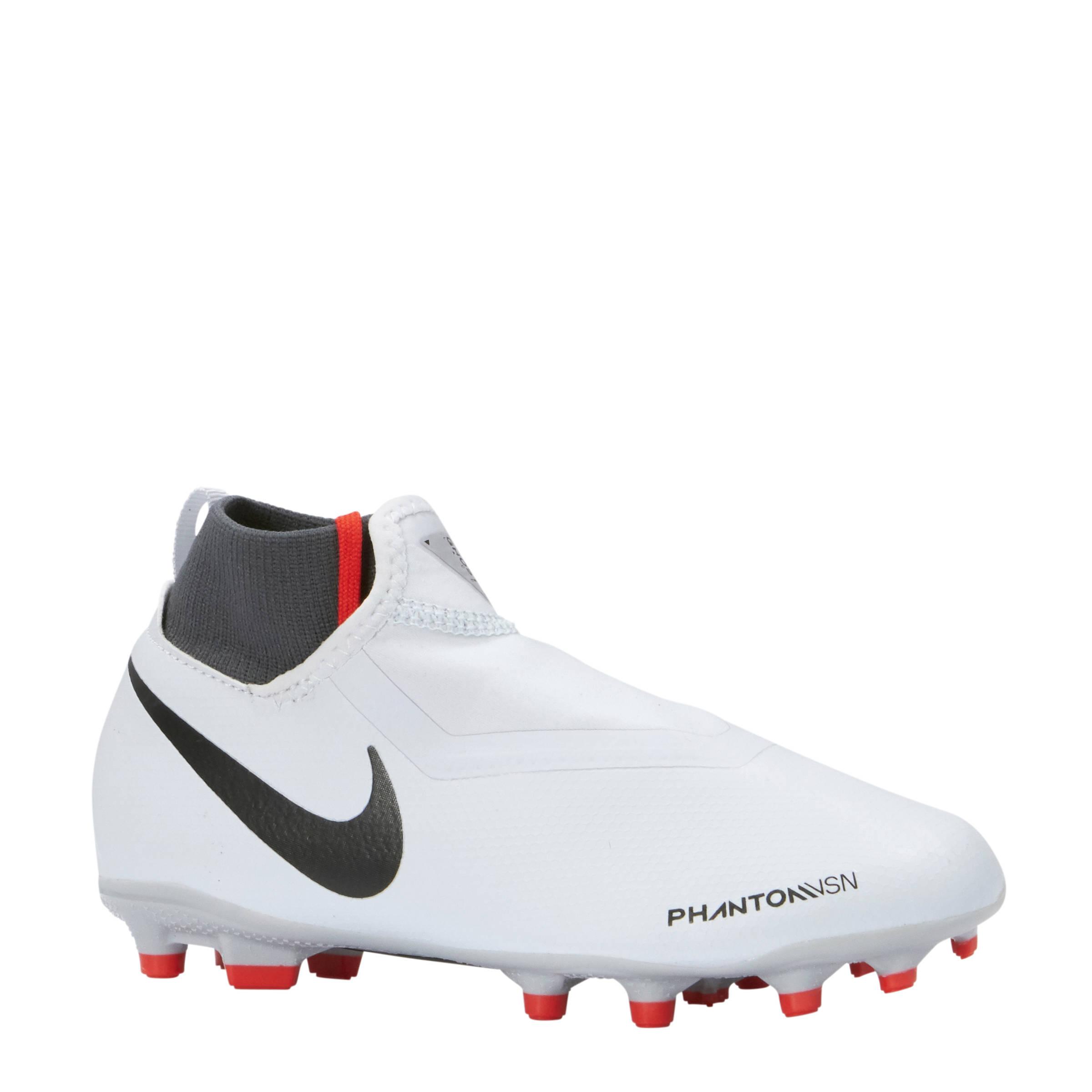 separation shoes aadf7 c092a Nike Jr. Phantom Vision Academy DF MG voetbalschoenen lichtgrijs | wehkamp