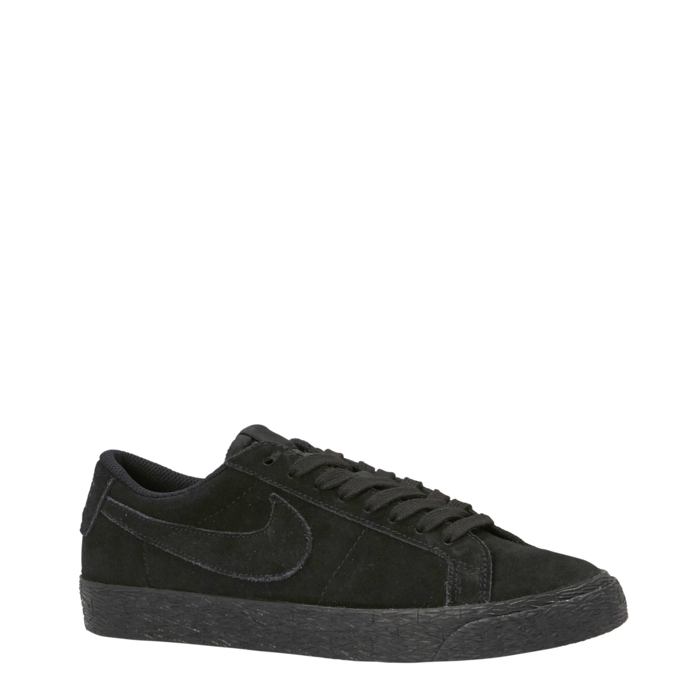 SB Zoom Blazer Low suède sneakers