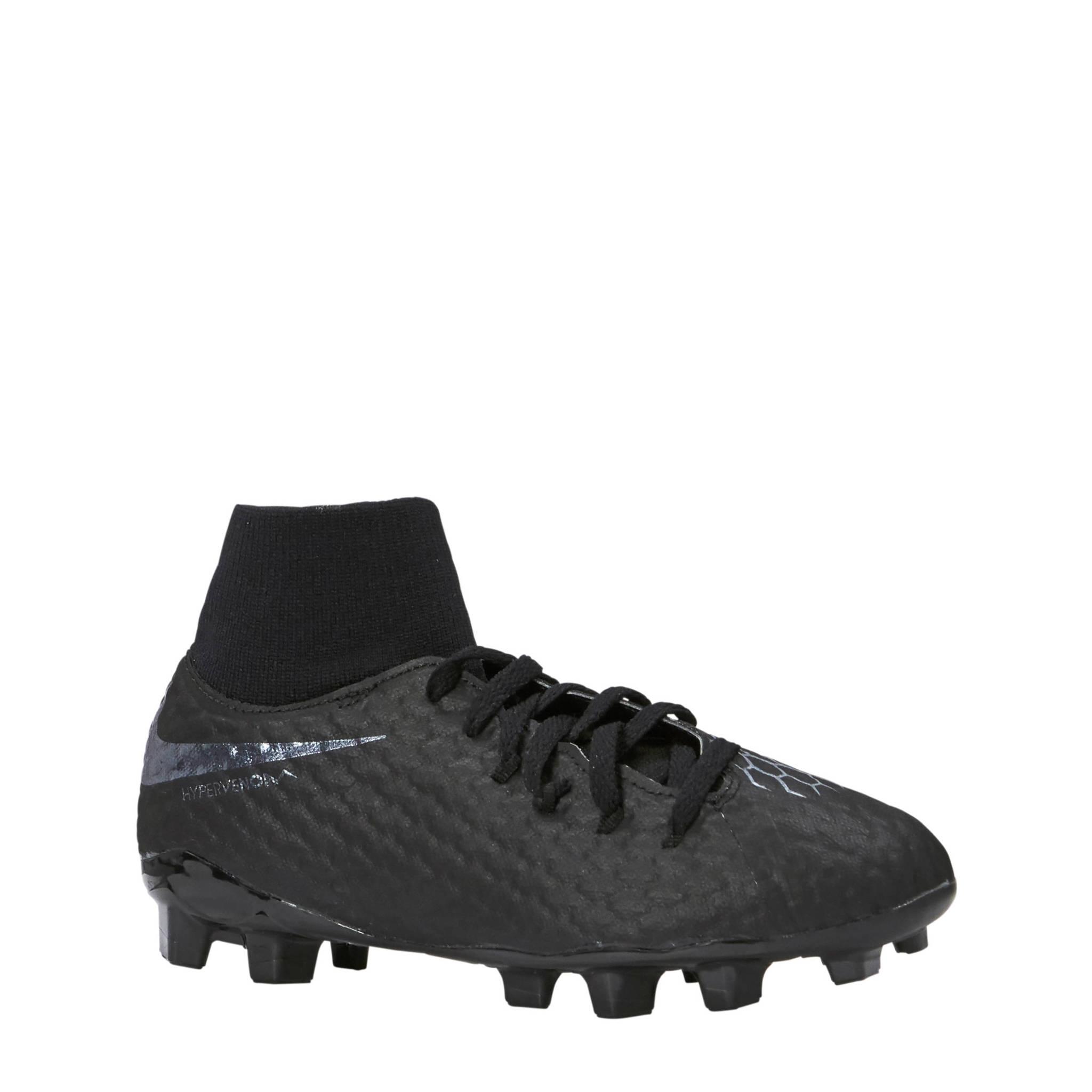 newest 912ac f887e Nike Hypervenom 3 academy DF FG voetbalschoenen zwart  wehka