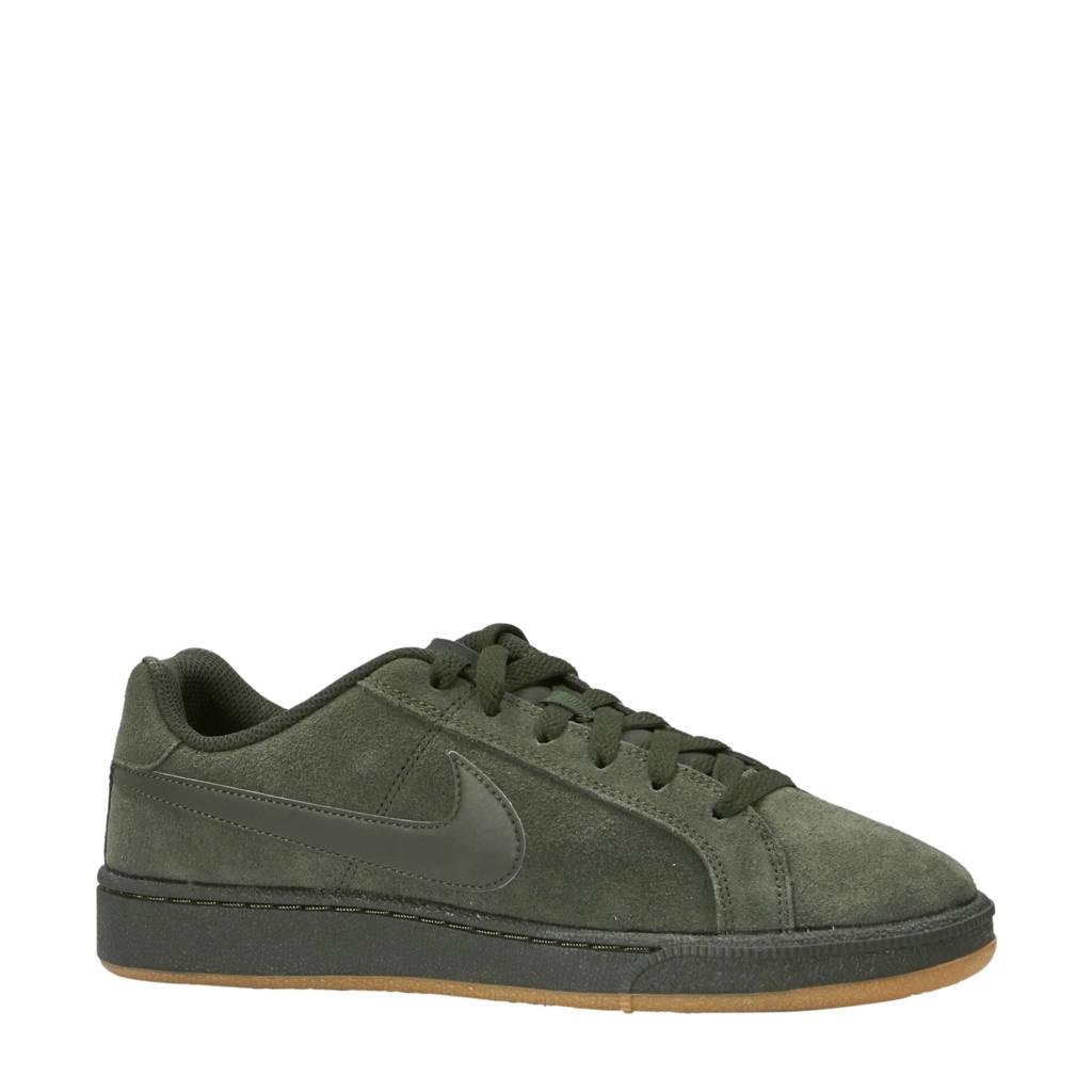 Nike  Court Royale suède sneakers donkergroen, Donkergroen