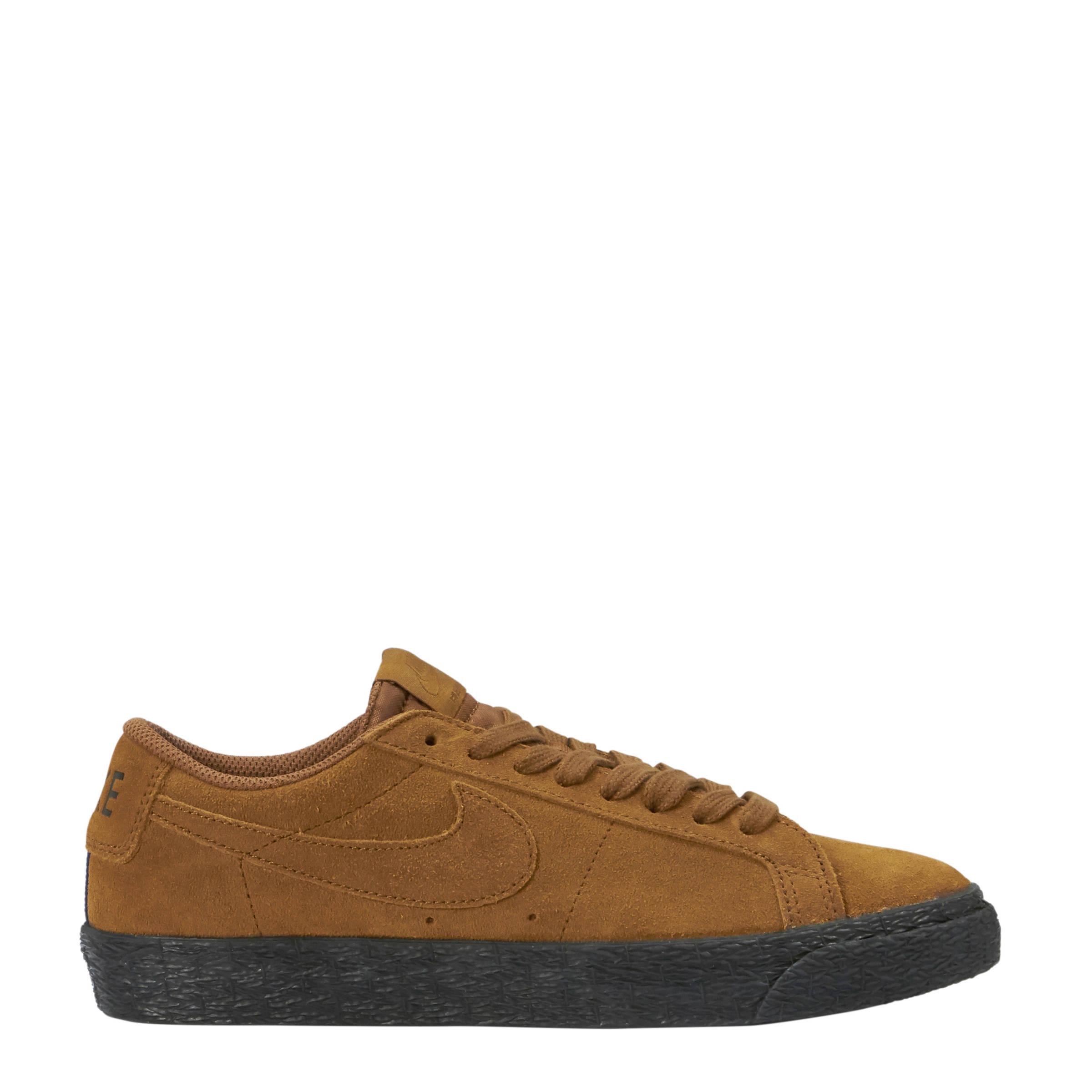 big sale 1335d 91b5d Nike SB Zoom Blazer Low suède sneakers bruin | wehkamp