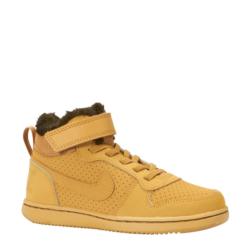 Nike  Court Borough Mid (GS) sneakers camel, Camel