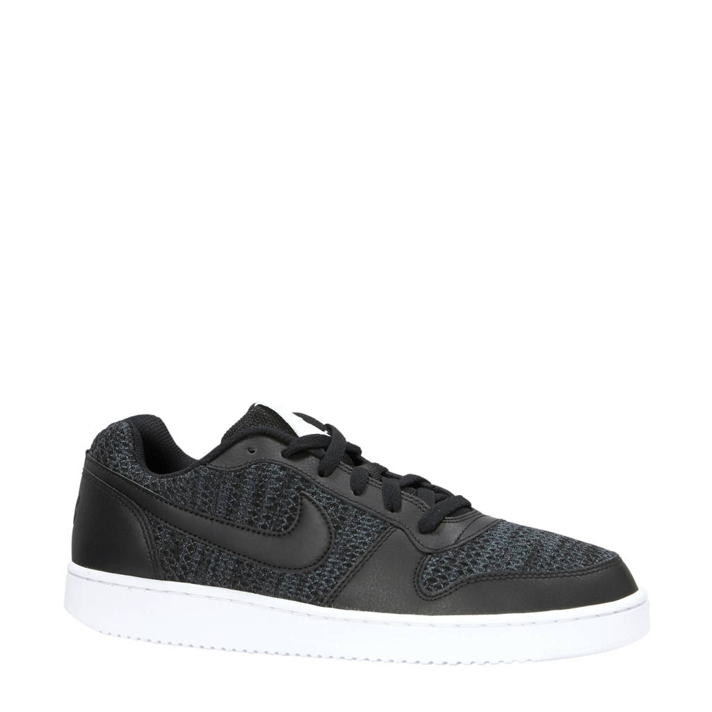 Nike  Ebernon Low sneakers donkergrijs/zwart