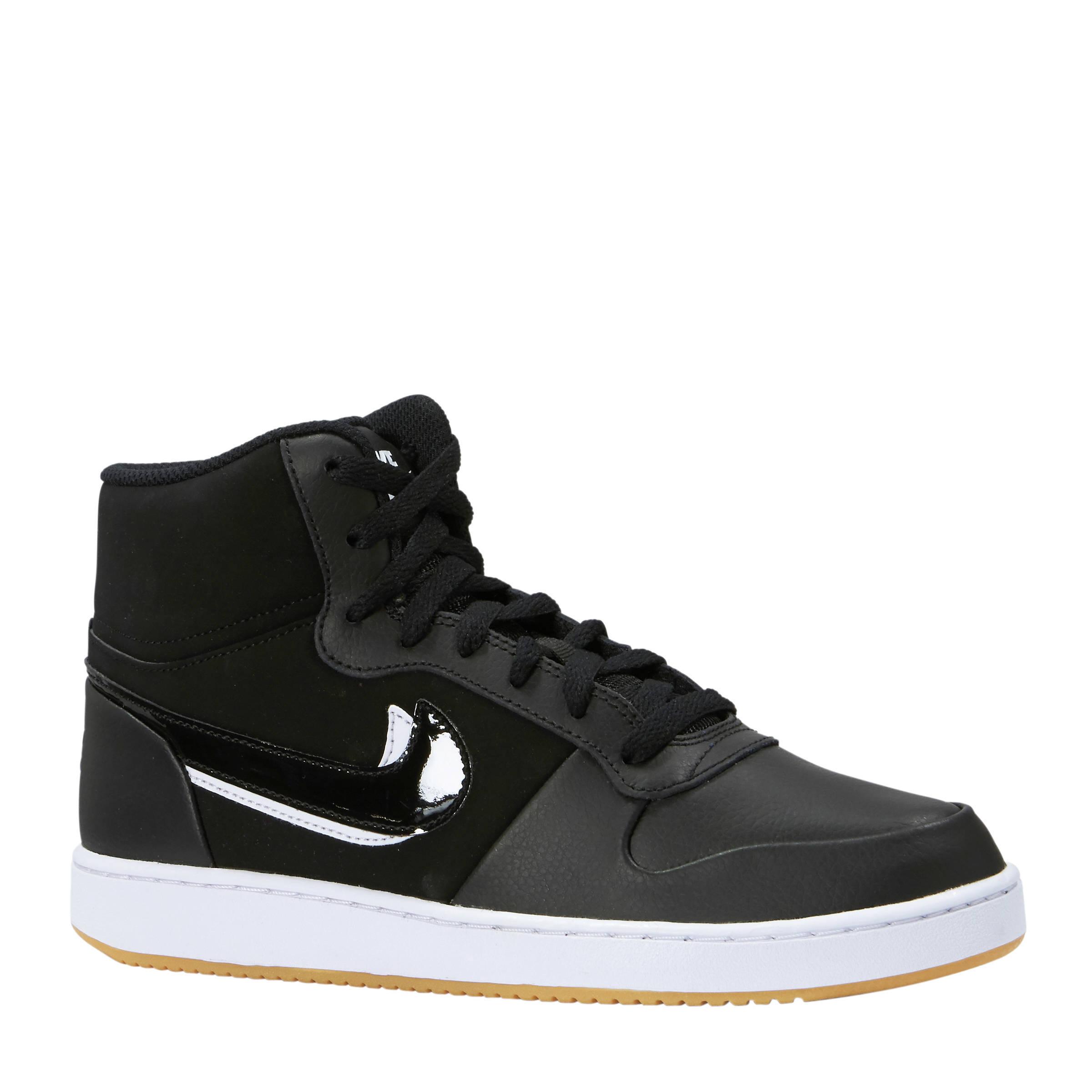 best loved 9b691 eb3dc Nike Ebernon Mid sneakers zwart   wehkamp