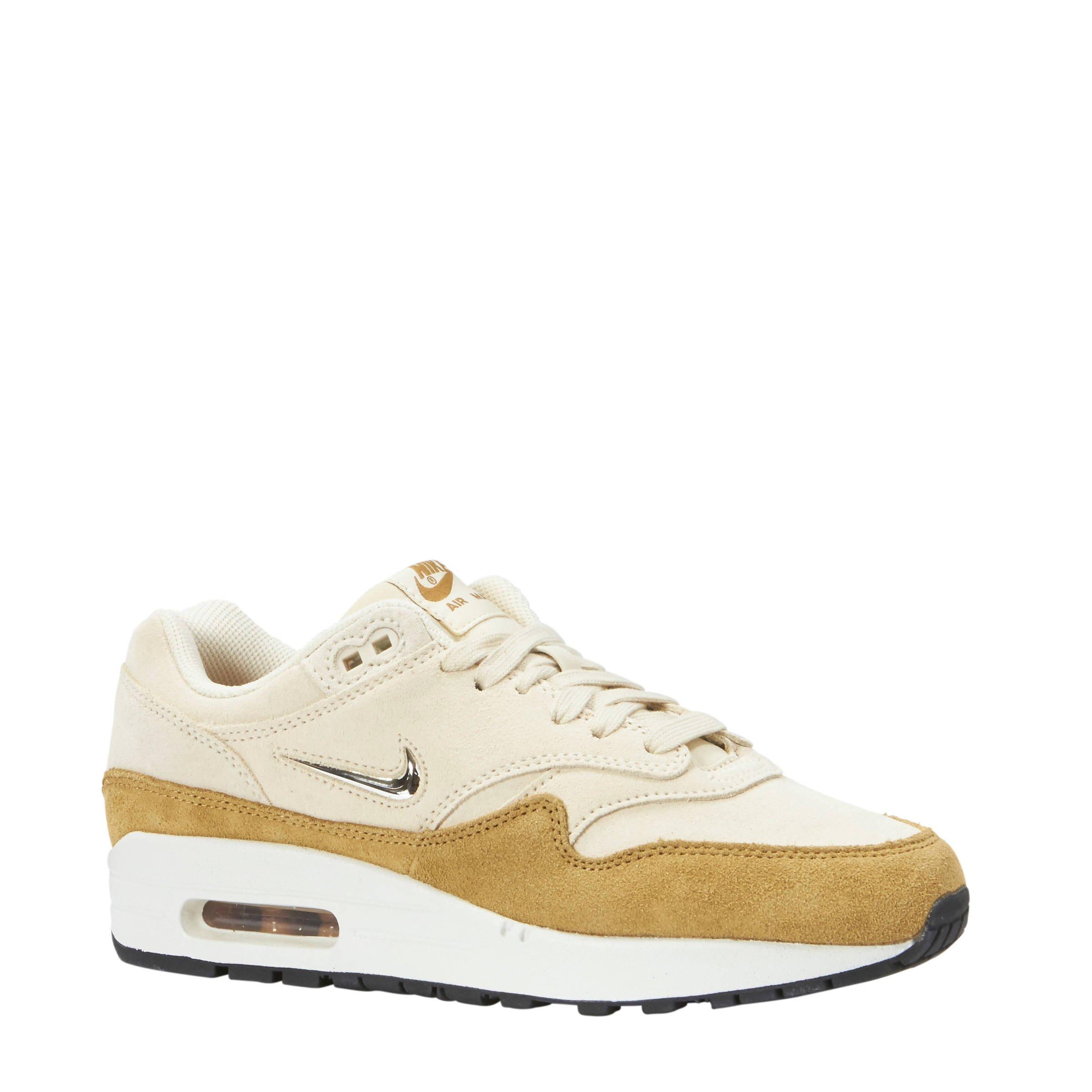 Beigeokergeel Zeqixhnows Wehkamp Sneakers Air Premium 1 Max Nike TlJFuc3K1