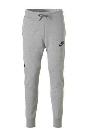 Tech Fleece joggingbroek grijs/zwart