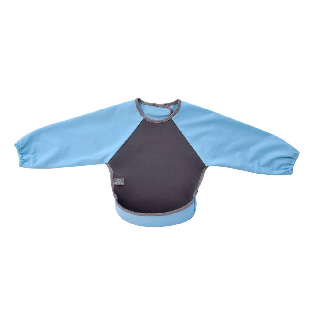 Bibetta mouwslab grijs/lichtblauw, Grijs/lichtblauw