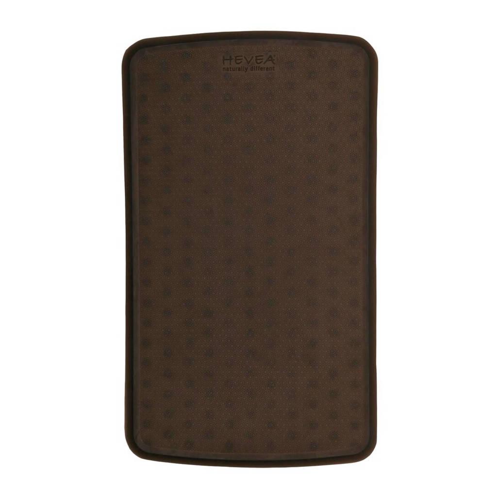 Hevea badmat (55x32 cm) Zwart