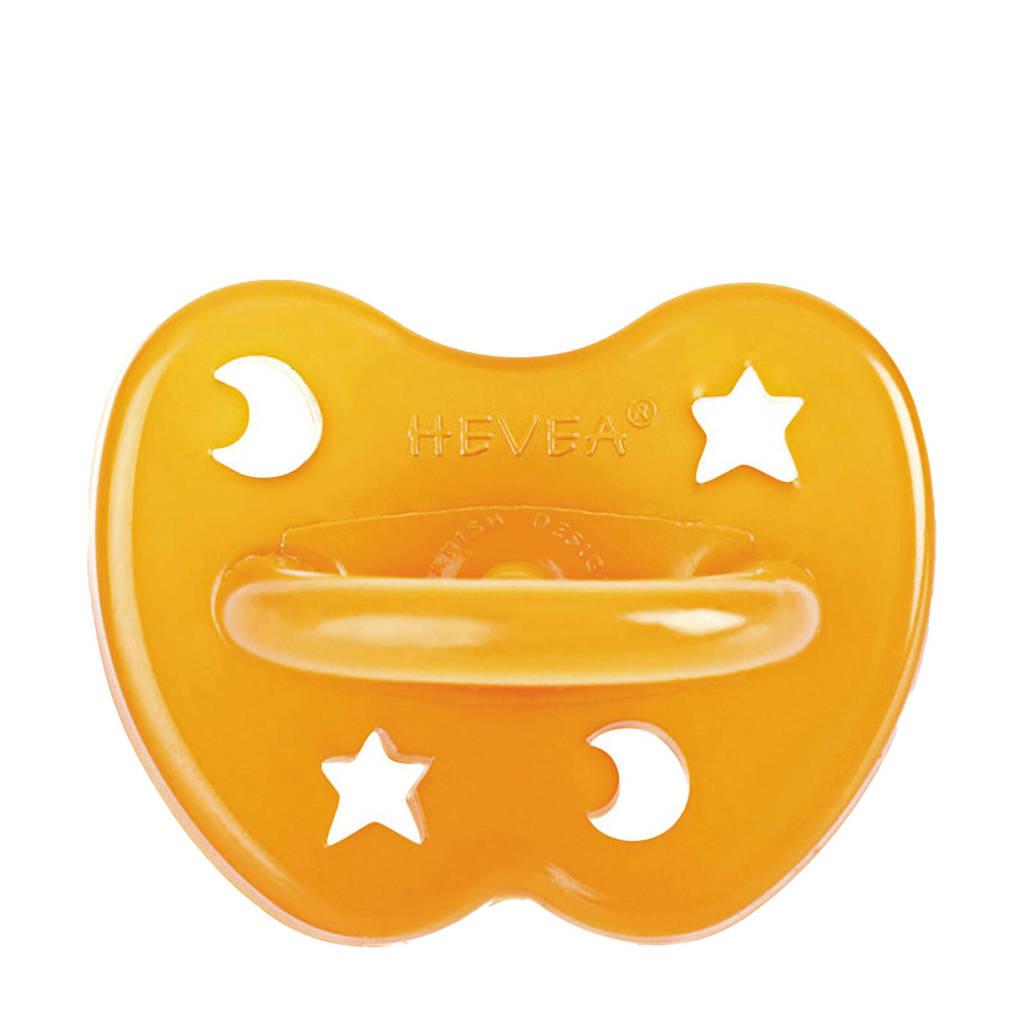 Hevea fopspeen orthodontisch star & moon 3-36 mnd, Vanaf 3 maanden