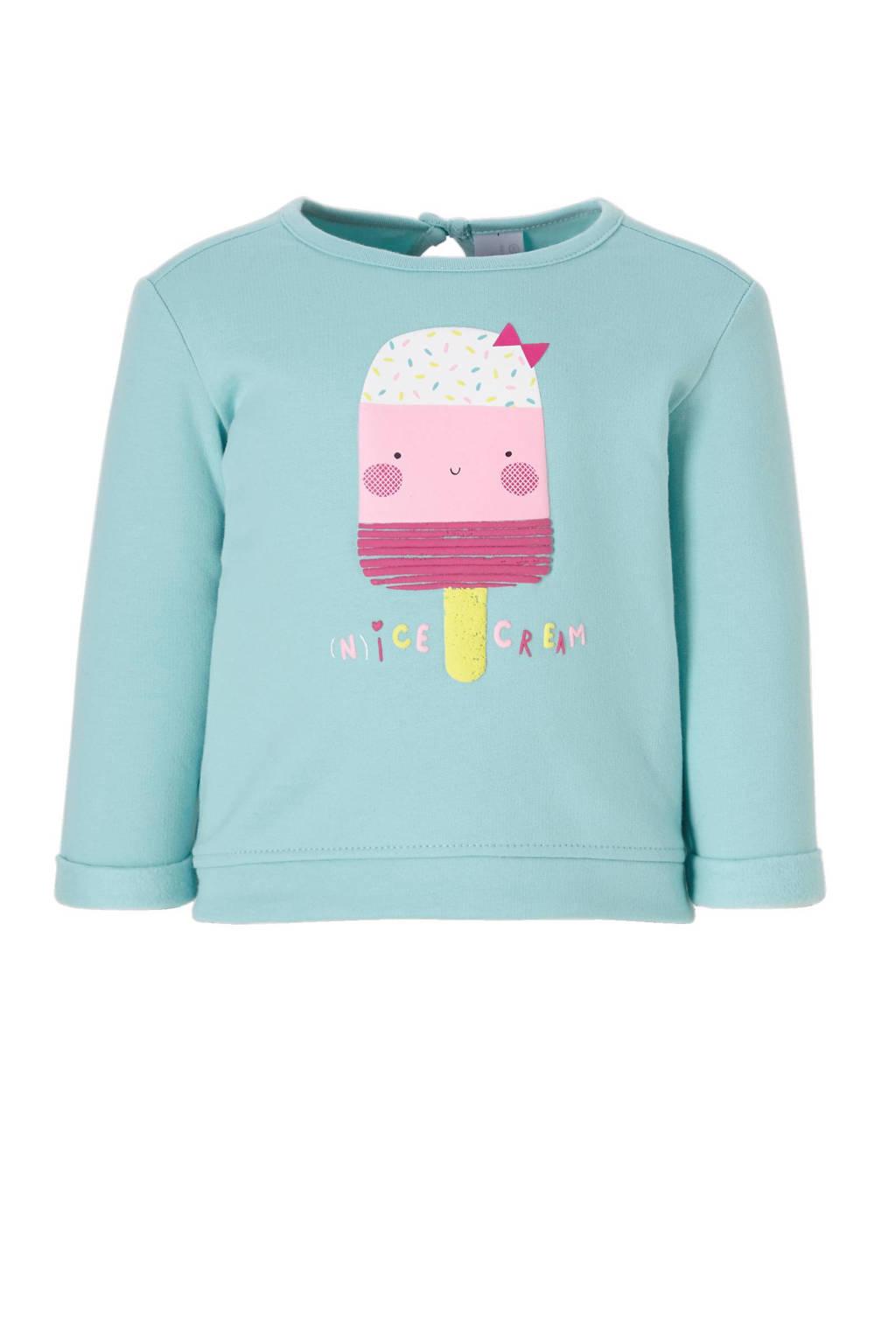 C&A Baby Club sweater, Lichtblauw