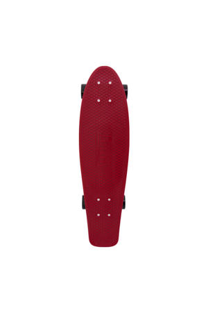 "Burgundy 22"" penny board"