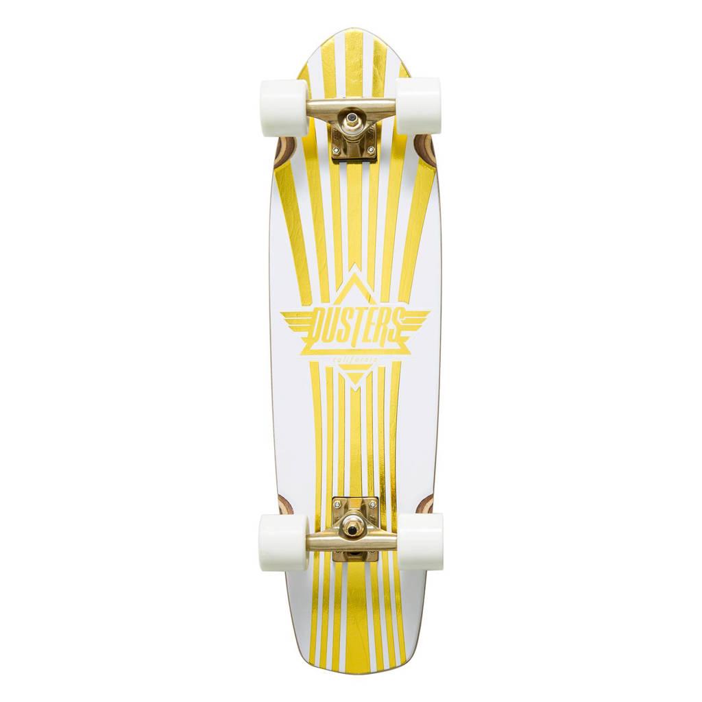Dusters Keen Prism cruiser longboard, Zwart/goud
