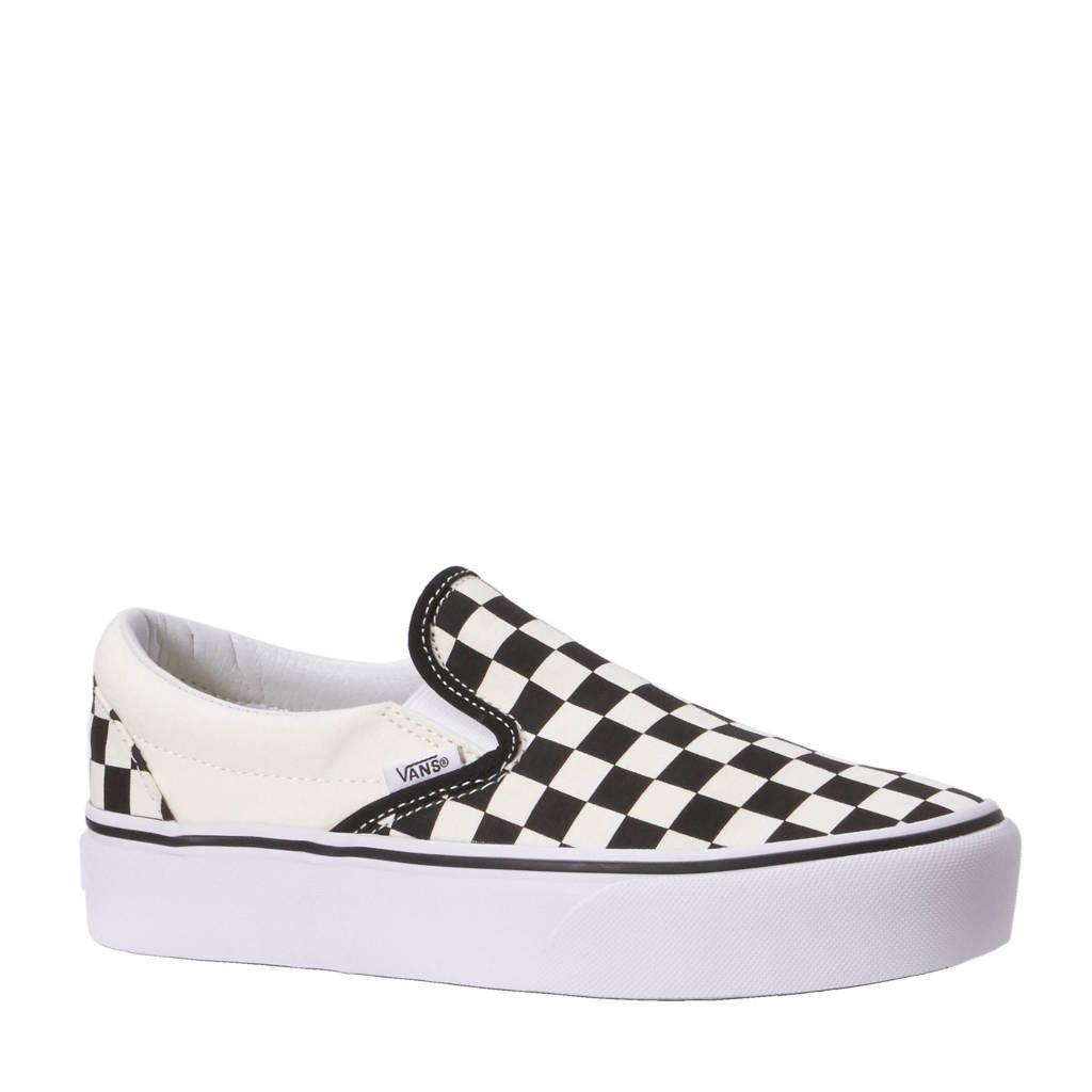 VANS  Classic Slip-On P sneakers, Ecru /wit /zwart