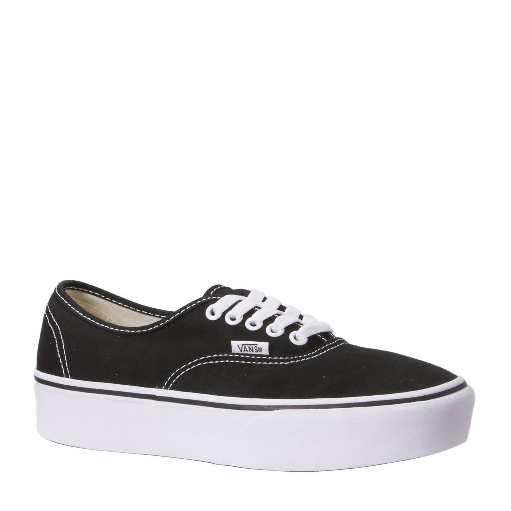 VANS  UA Authentic Platform sneakers, zwart/ wit