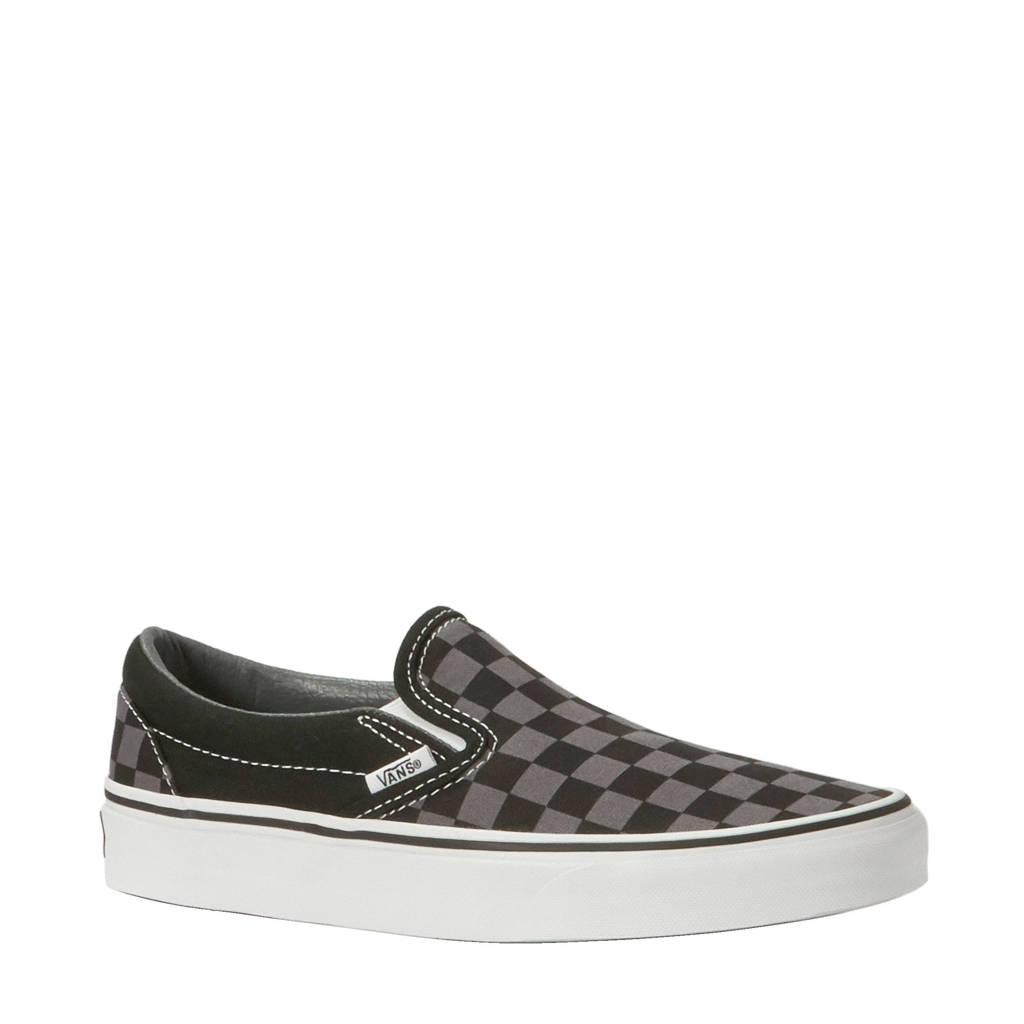 VANS   UA Classic Slip-On sneakers, Zwart/ grijs/ wit/ bruin