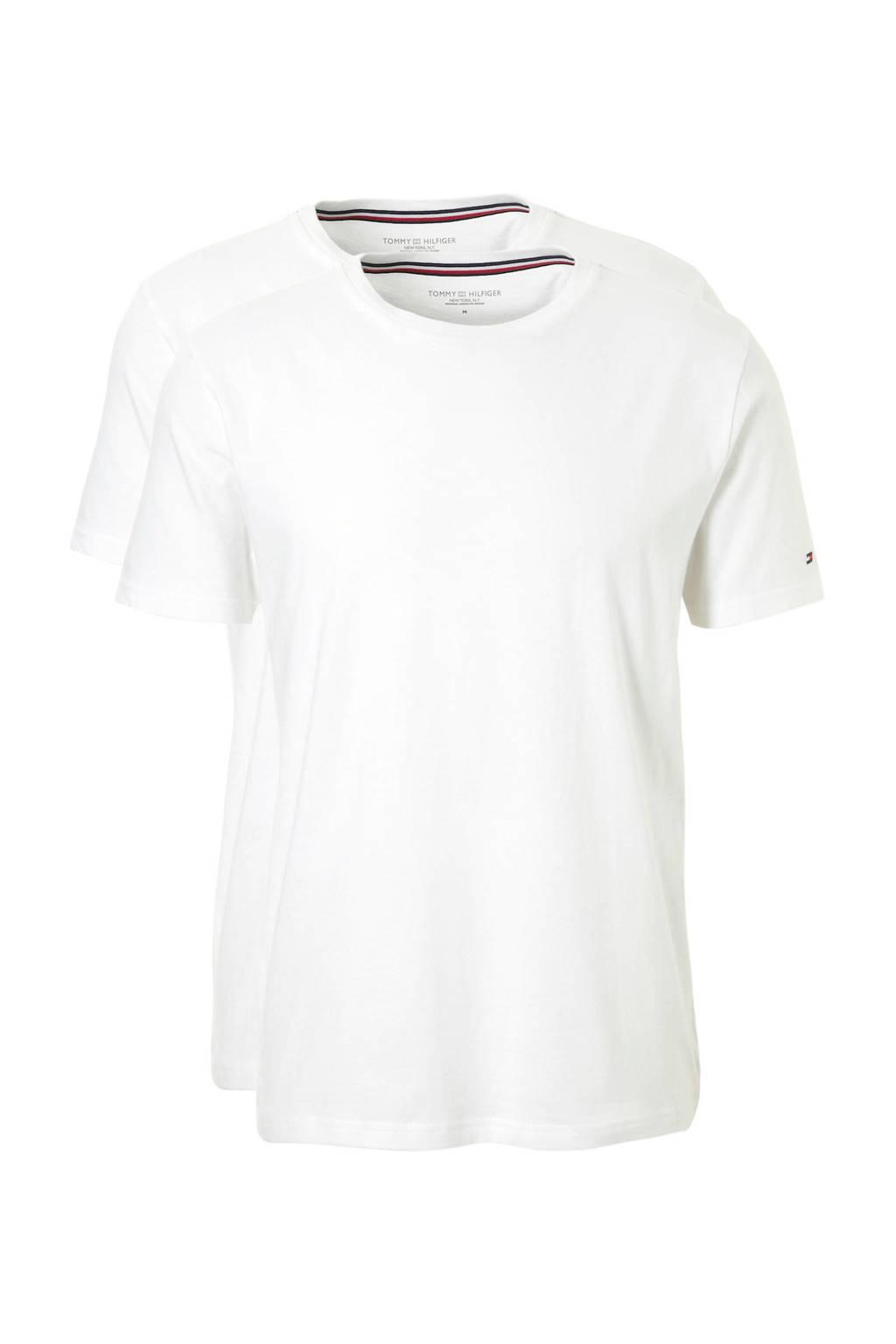 Tommy Hilfiger T-shirt (set van 2), Wit
