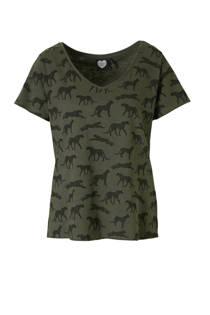 Catwalk Junkie Cheetah T-shirt