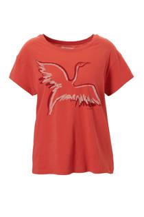 ARMEDANGELS Nela Big Crane T-shirt