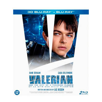 Valerian and the city of a thousand planets (3D) (Blu-ray)