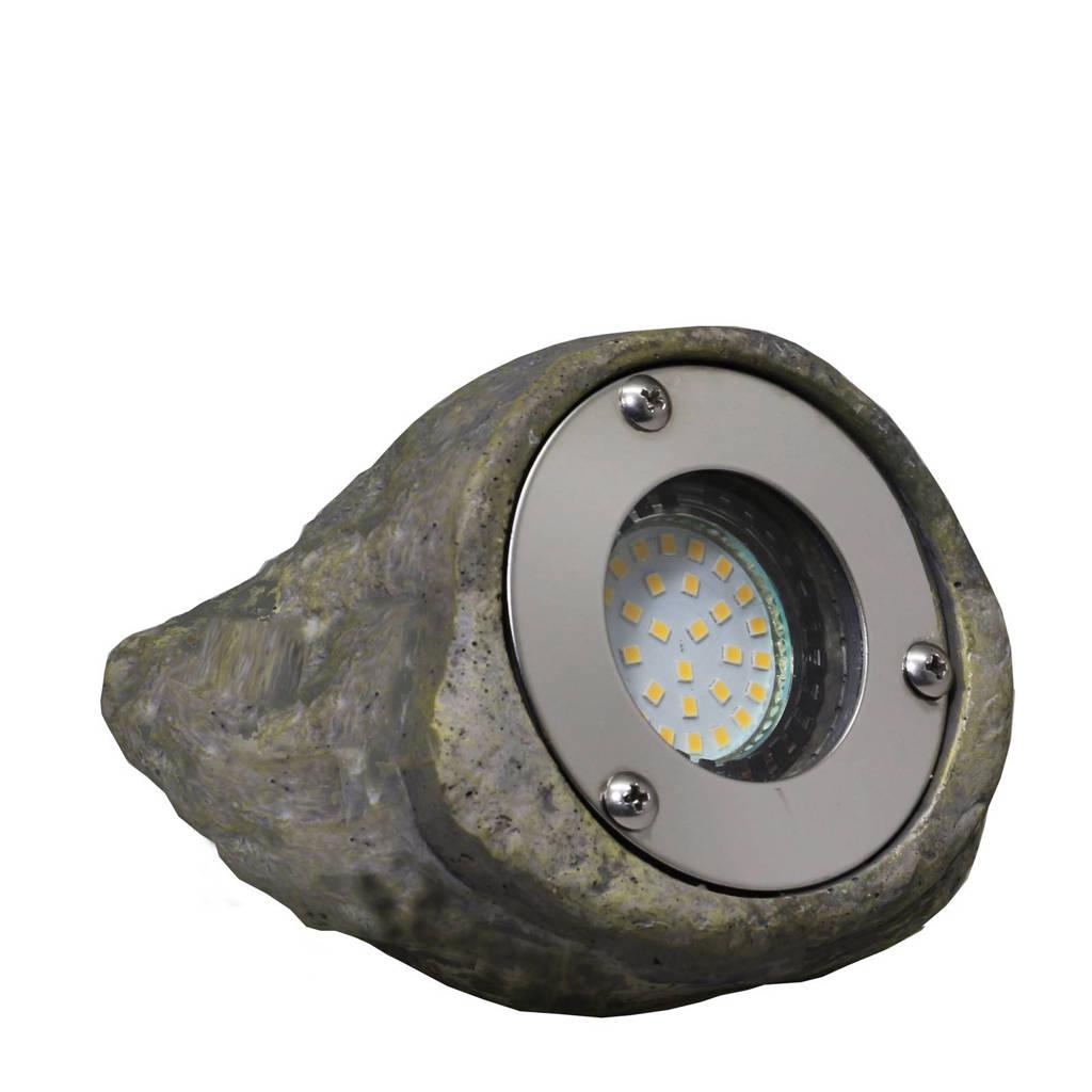 Luxform grondspot rocklight Tatra, Grijs