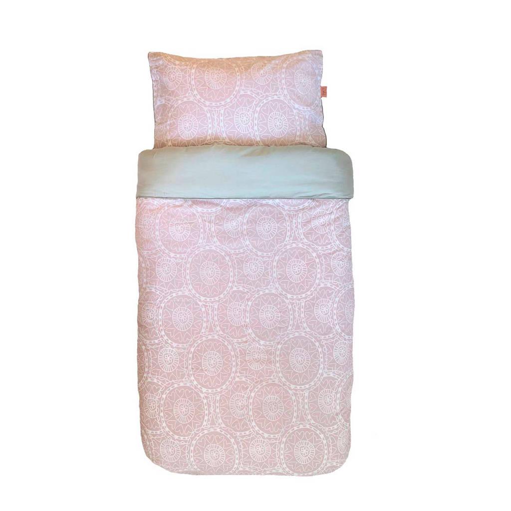 Witlof for kids katoenen Little lof Tuck-Inn® dekbedovertrek Misty Pink (120x150 cm), Misty pink