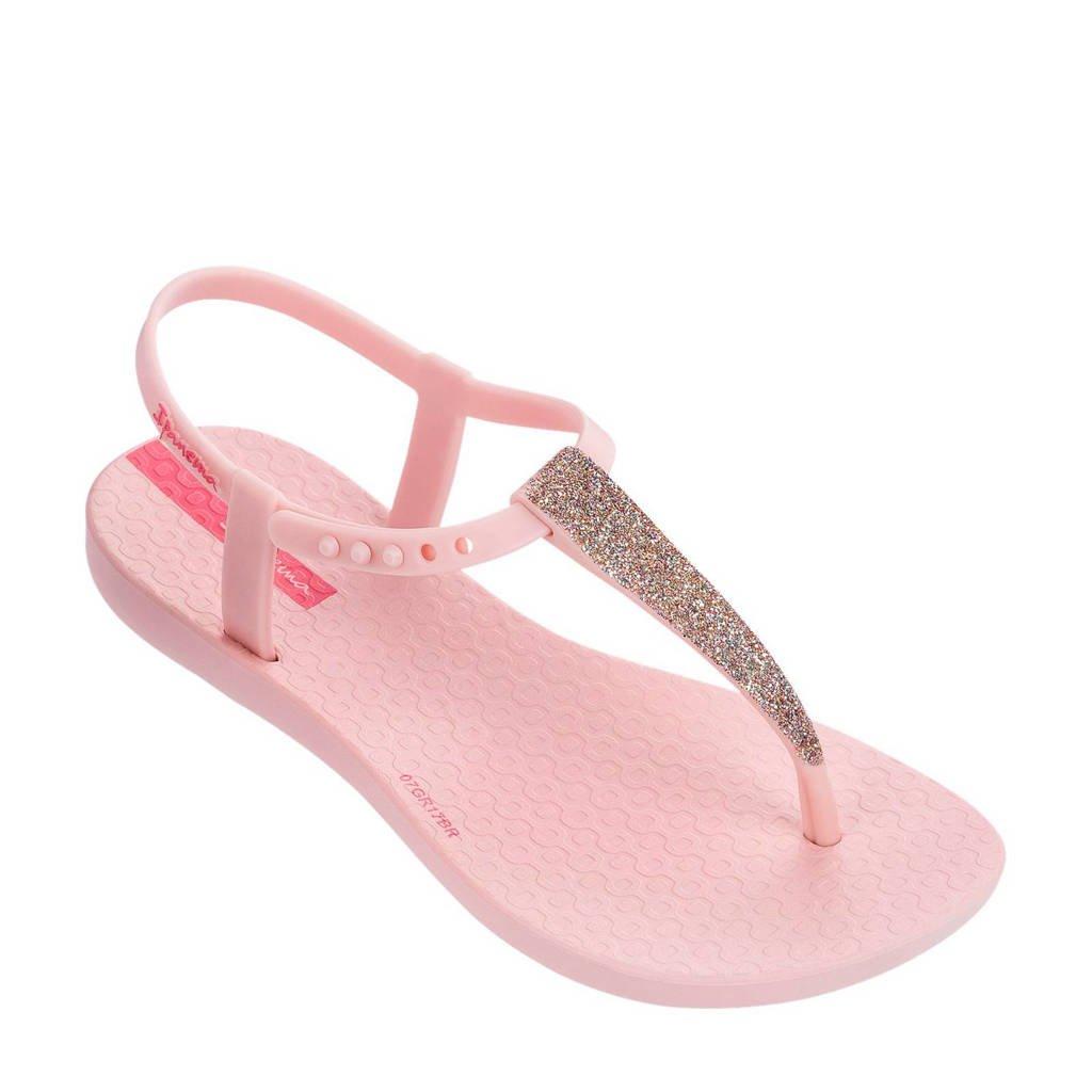 Ipanema   Charm sandalen met glitters lichtroze, Lichtroze