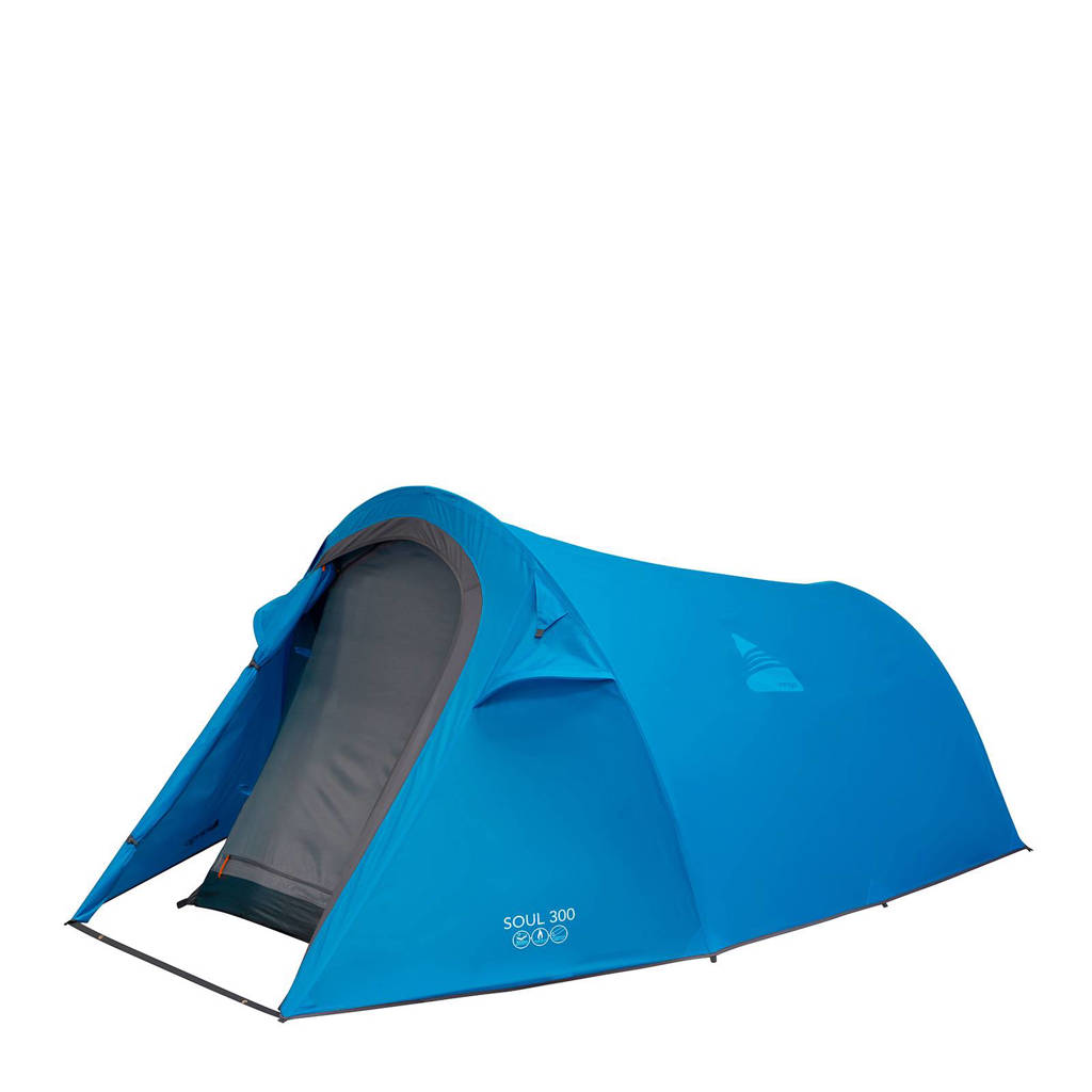 Vango  Soul 300 3-persoons tunneltent, Blauw