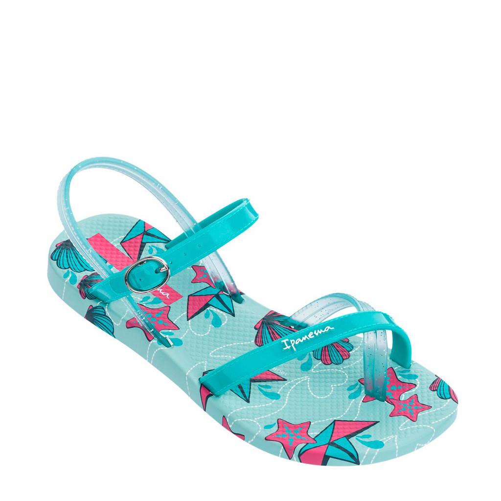 Ipanema Fashion Sandal teenslipper, Turquoise/roze