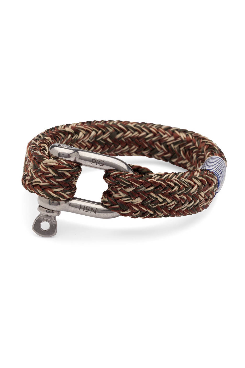 Pig & Hen armband Fat Fred, Army/brown/sand