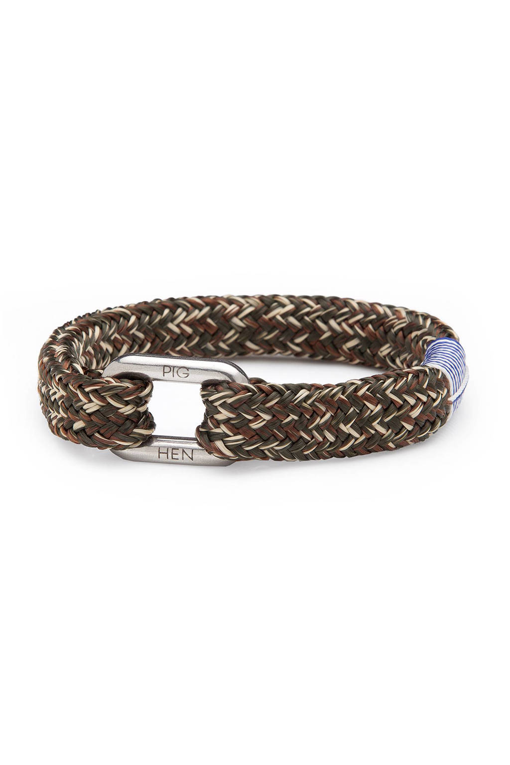 Pig & Hen armband Limp Lee, Army/brown/sand