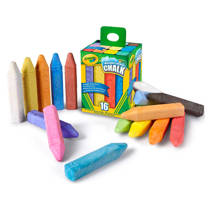 Crayola  stoepkrijt 16 stuks