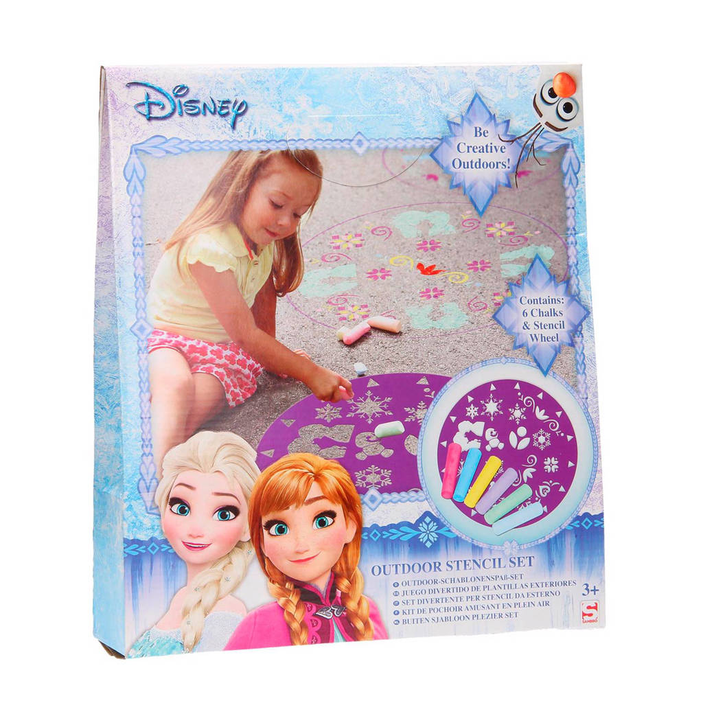 Disney Frozen  stoepkrijt