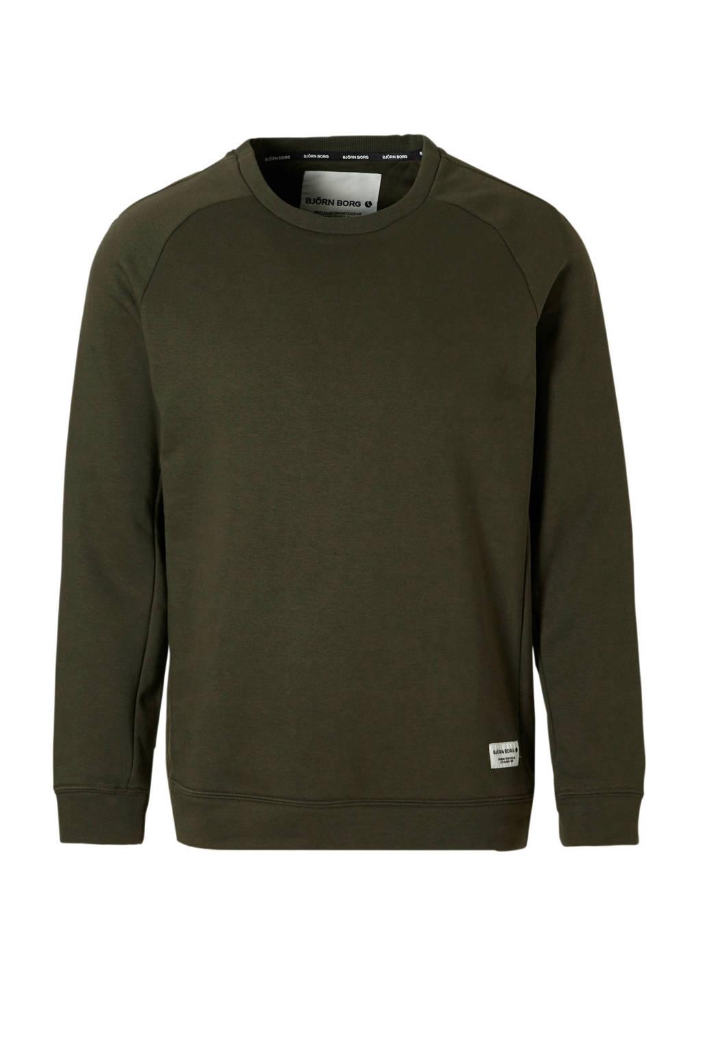 Björn Borg   sweater groen, Groen