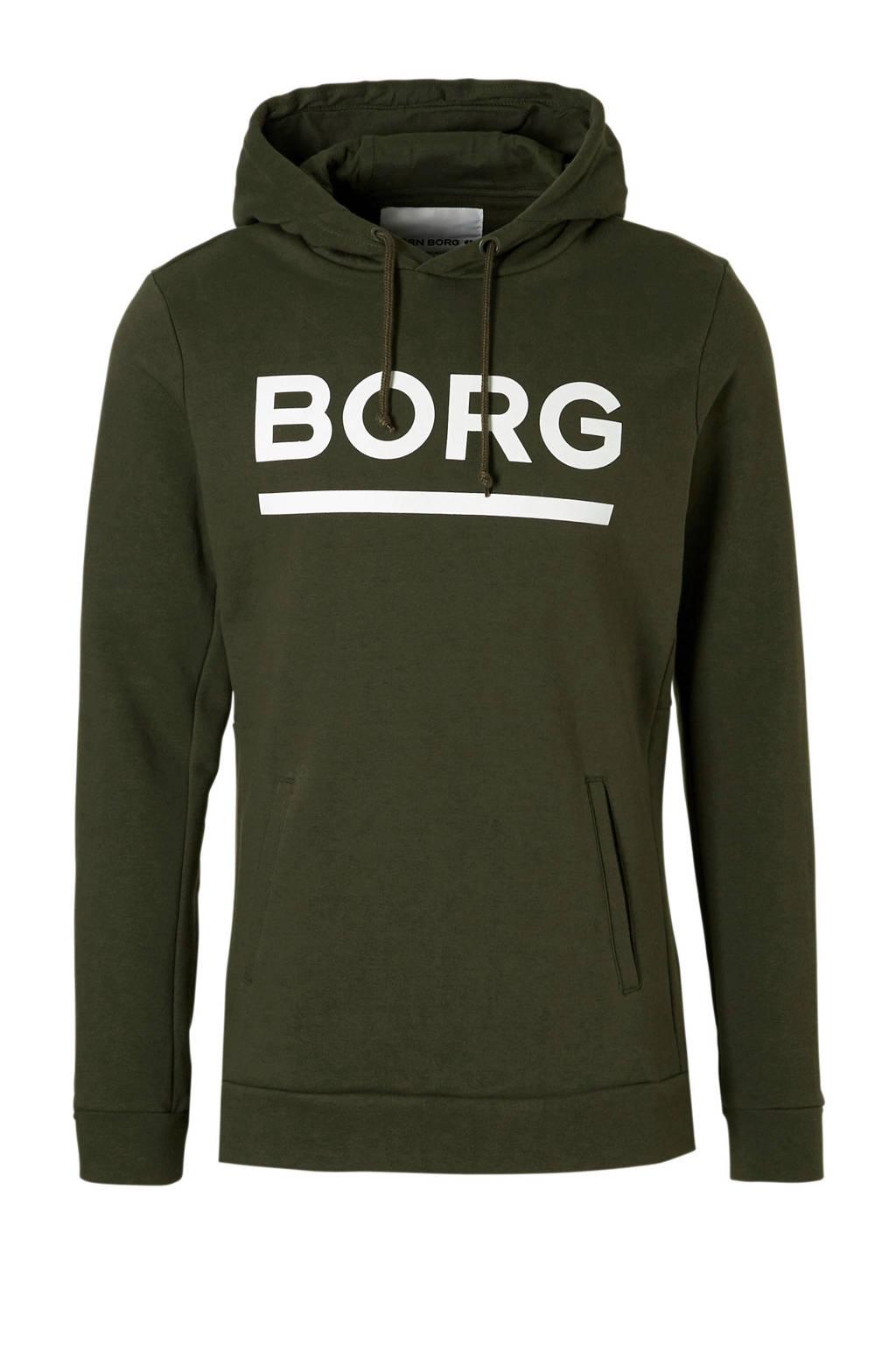 Donkergroen Borg Björn Donkergroen Hoodie Hoodie Björn Borg Donkergroen Hoodie Björn Borg Borg Björn N8w0Oymnv
