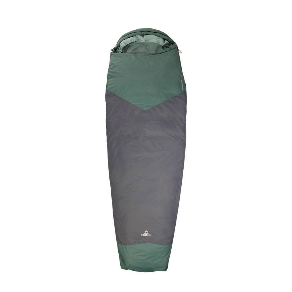 Nomad  1-persoons mummy slaapzak Travel Compact 2, Grijs/grijsgroen