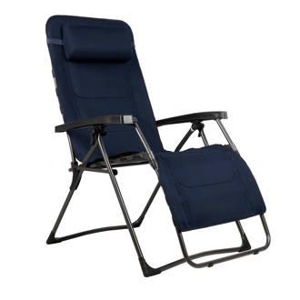 Emerald relaxstoel donkerblauw