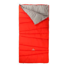 junior slaapzak Melville oranje - grijs