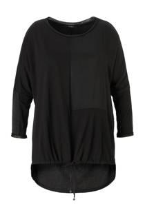 Mat Fashion tuniek met aantrekkoord (dames)