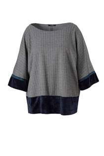 Mat Fashion gestreepte top (dames)