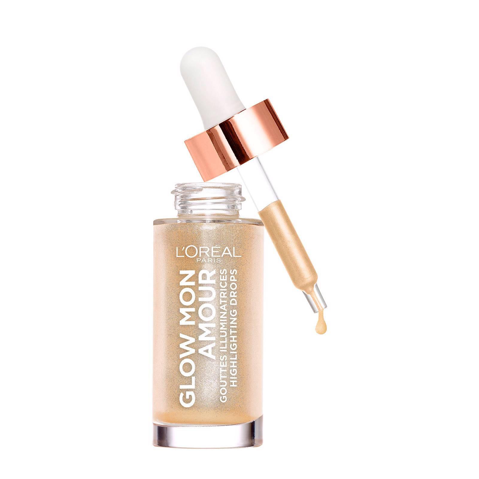 L'Oréal Paris Vloeibare highlighter Glow Mon Amour Droplet 01 Sparkling love