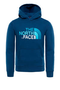 The North Face   outdoor hoodie, Blauw