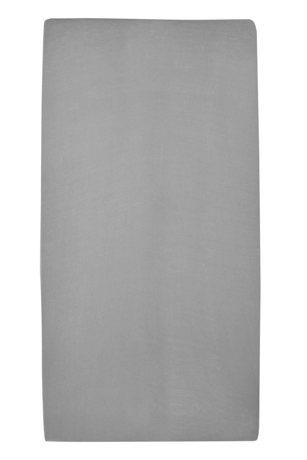 Meyco jersey hoeslaken peuterbed 70x140/150 cm Grijs