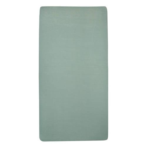 Hoeslaken Meyco Ledikant Jersey Jade