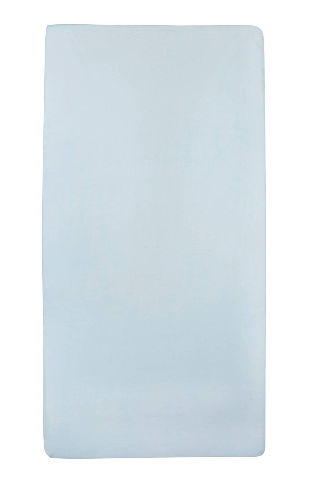 Meyco jersey hoeslaken wieg 40x80/90 cm, Lichtblauw