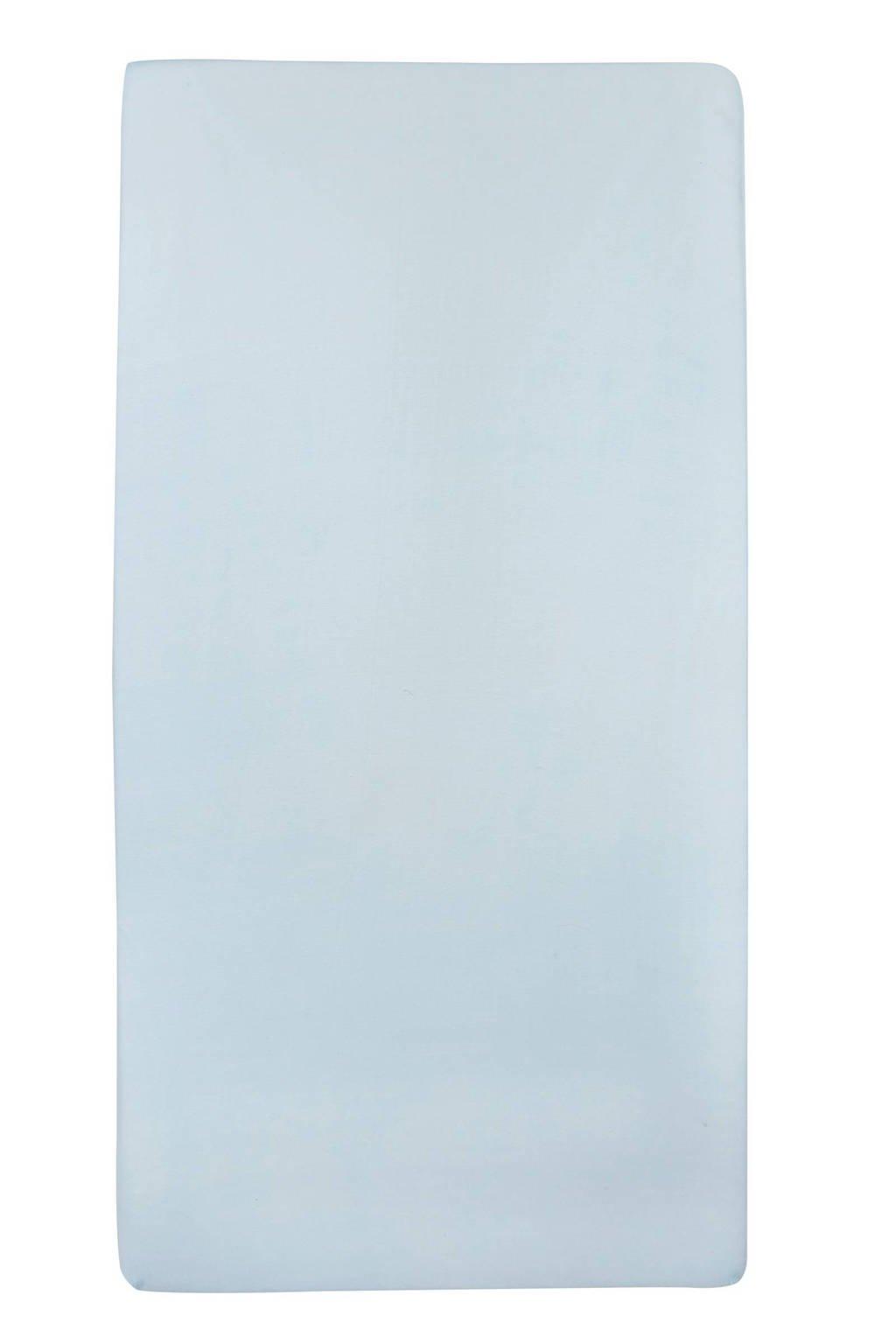 Meyco jersey hoeslaken peuterbed 70x140/150 cm Lichtblauw