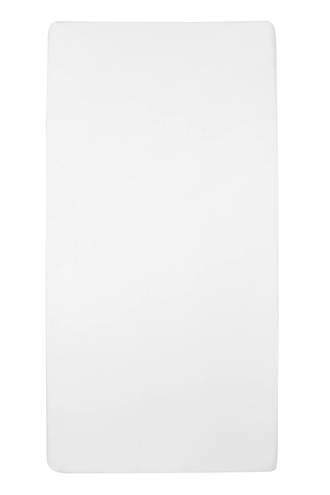 jersey hoeslaken wieg 40x80/90 cm Wit
