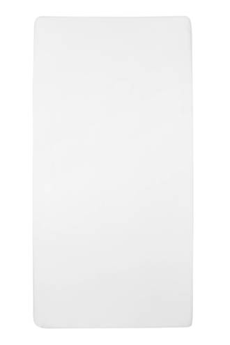 jersey hoeslaken ledikant 60x120 cm Wit