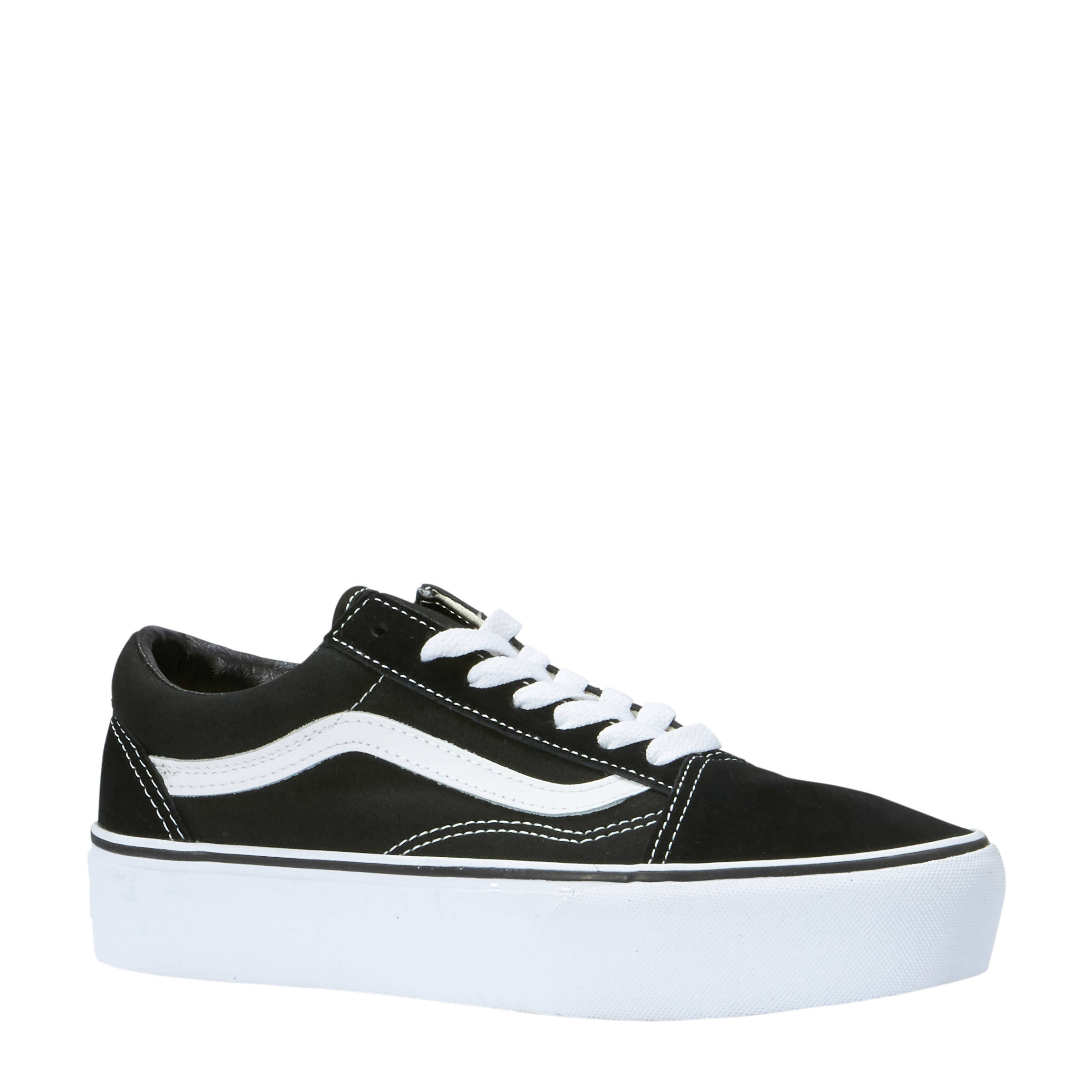 vans old skool dames zwart wit