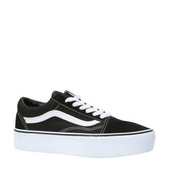 Old Skool Platform sneakers zwart/wit
